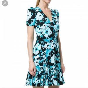 Michael Kors turquoise dress